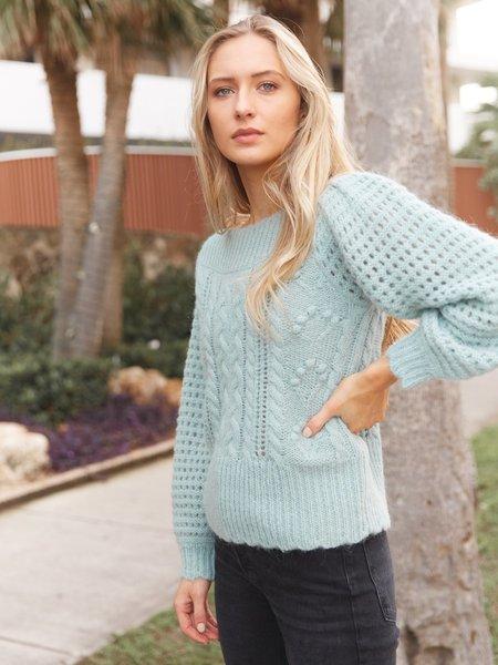 LoveShackFancy Vyoma Pullover Sweater - Sparking Brook