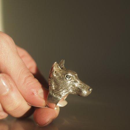 Allison Bartline Amarok Ring - silver