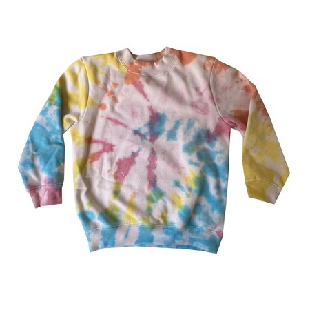 Disco Panda Tie Dye Sweatshirt - Multi