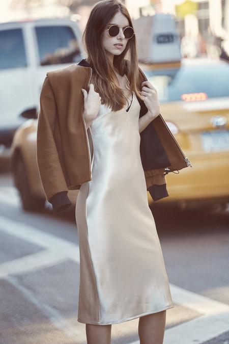 BETWEEN TEN Mia Dress - Gold