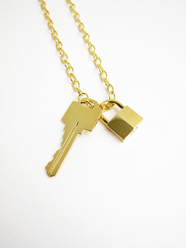 Lauren Klassen Lock and Key Necklace