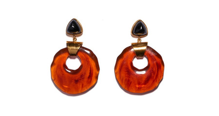 Lizzie Fortunato Cuban Mod Earrings