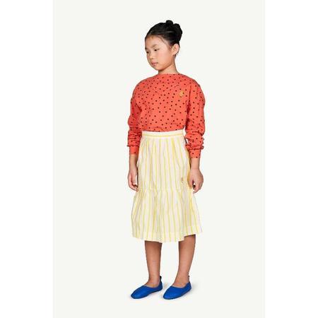 Kids the animals observatory turkey skirt - White/Yellow