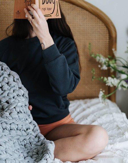 Noble Organic Sweatshirt - Charcoal