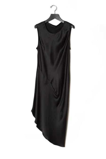 KES Asymmetric Drape Dress