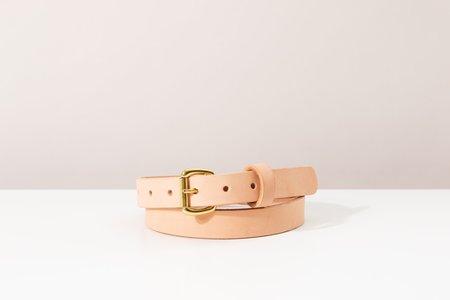 Foxtrot Studio Slim Belt - Natural