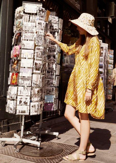 Louise Misha Wara Dress - Cinnamon Brush