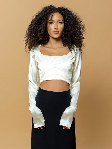 LEIGH NY Ethel Top - Champagne