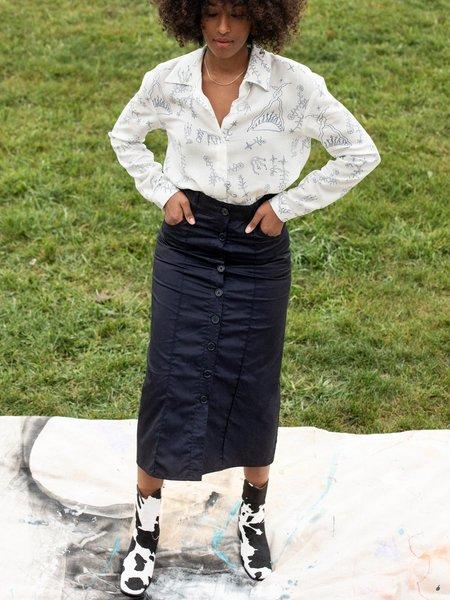 Lisa Says Gah Ramona Midi Skirt