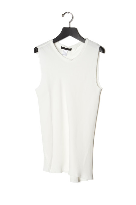 KES Twisted Sleeveless Top Georgette