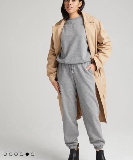 Richer Poorer - Recycled Fleece Sweatpant - Heather Grey