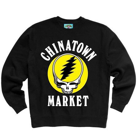 Chinatown Market GD Deadtown Crewneck - Black