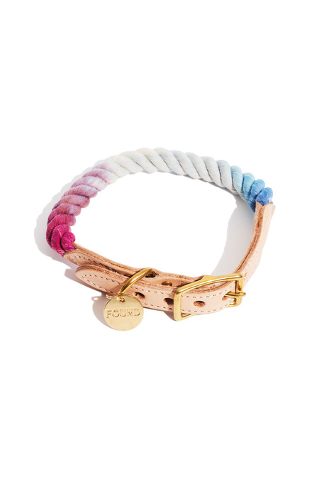 Found My Animal Mood Ring Ombre Cotton Dog Collar