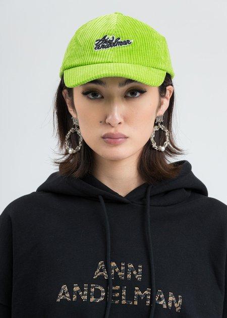 Ann Andelman Logo Cap - Green