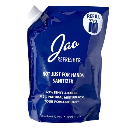 Jao Brand Refill Pouch 28.4 oz Refresher/Sanitizer