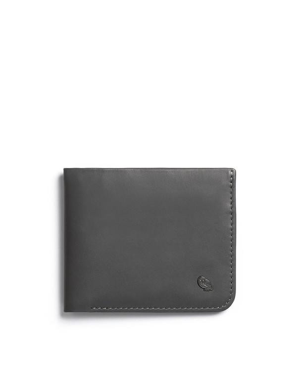 Bellroy Hide and Seek Wallet - Charcoal/Blue