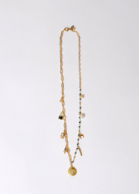 Marion McKee jewelry Charm No. 3 Necklace
