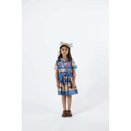 kids wolf & rita flavia dress - parasol