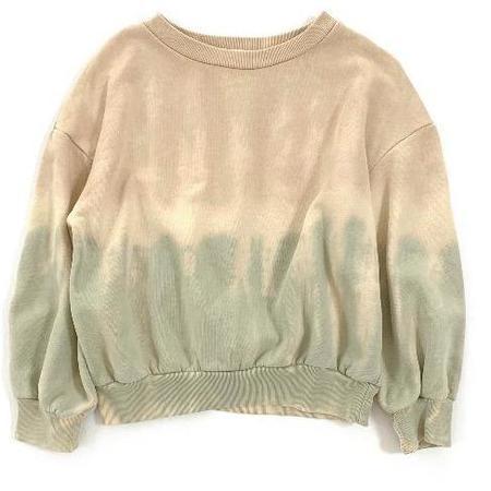 kids long live the queen tie dye sweatshirt - Pastel
