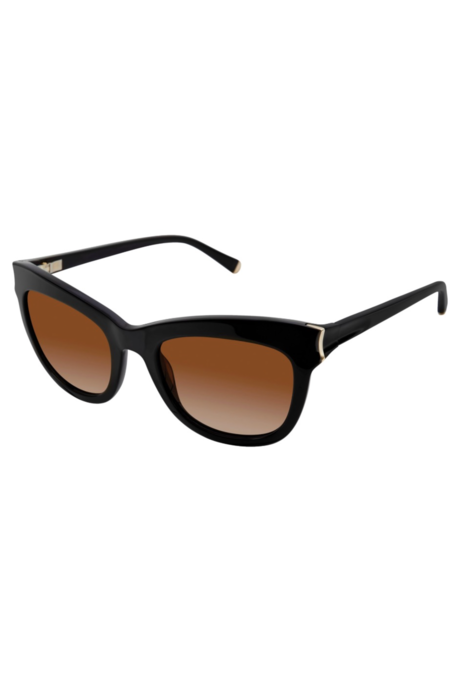 Kate Young For Tura Scarlett Sunglasses - Black