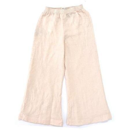 Kids long live the queen wide pants - beige