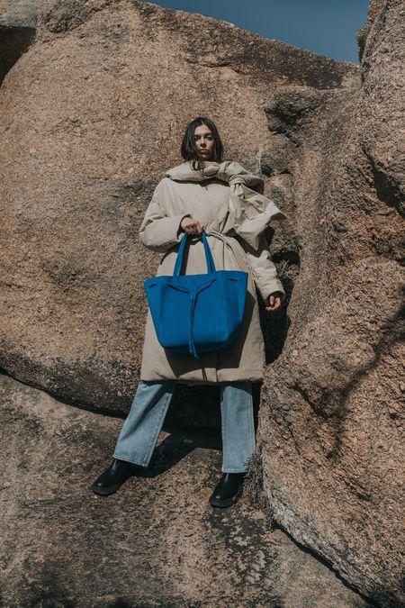 Kwonn Shopper Bag - Blue