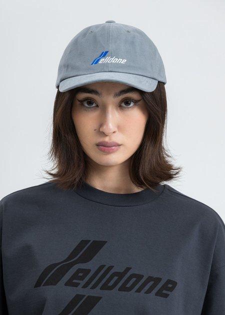 we11done Logo Cap - Grey