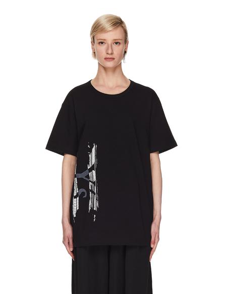 Y's Printed T-shirt - Black
