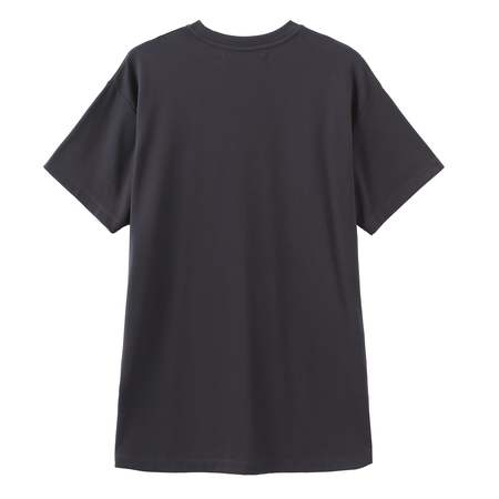Unisex Matter Matters Oversized Long Tee With Pockets - Read Shit/Charcoal