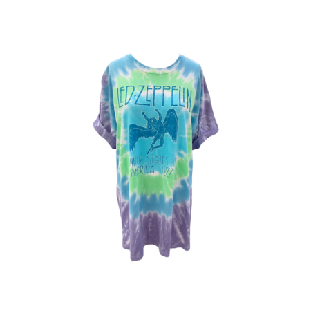 Farm Stand Led Zeppelin T-Shirt - Tie Die