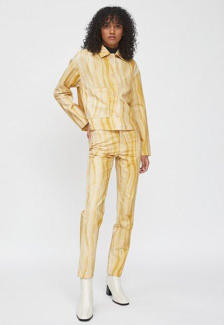 Paloma Wool Bardenas Short Jacket - Ochre