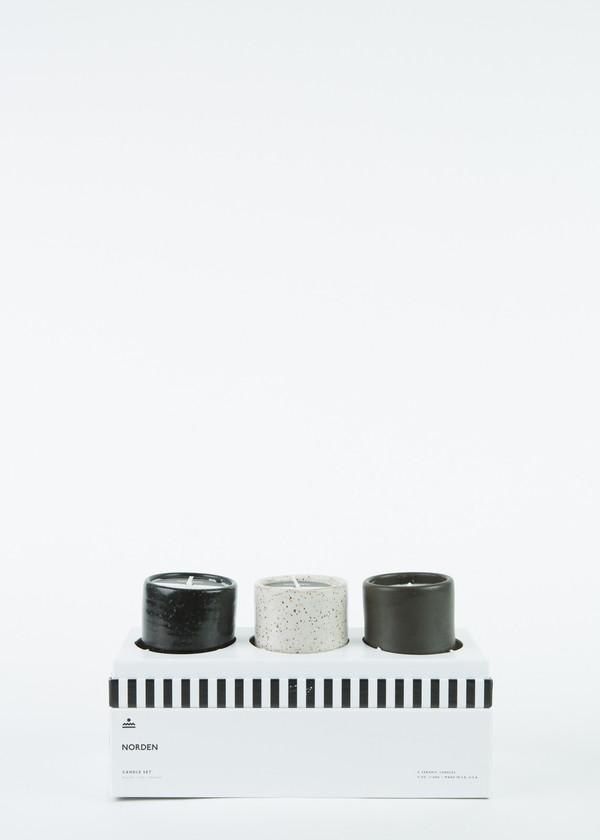 Norden Ceramic Candle Gift Set