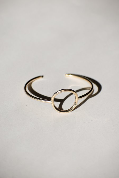 Emma Brooke Jewelry Sun Cuff Bracelet - Gold
