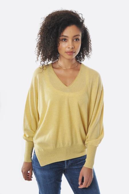 Oyuna V Neck Pullover - Butter