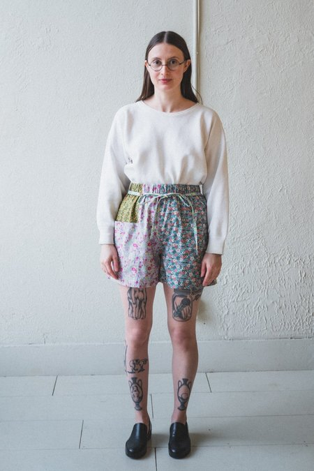 Kasmaria Floral Patch Shorts