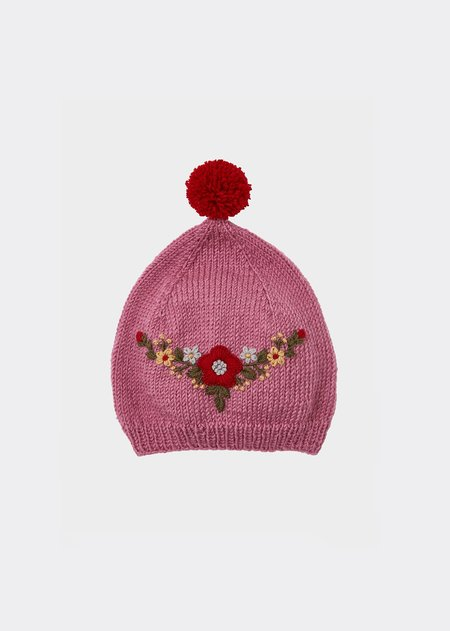 Kids Caramel Austral Hat - Pink