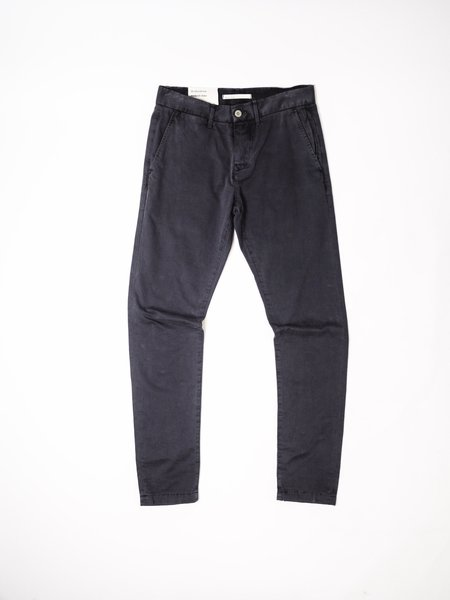 LIFE AFTER DENIM WASHED WEEKEND CHINO - BLACK