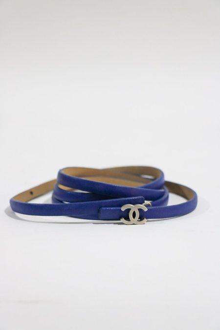 [Pre-loved] Chanel Skinny CC Buckle Belt