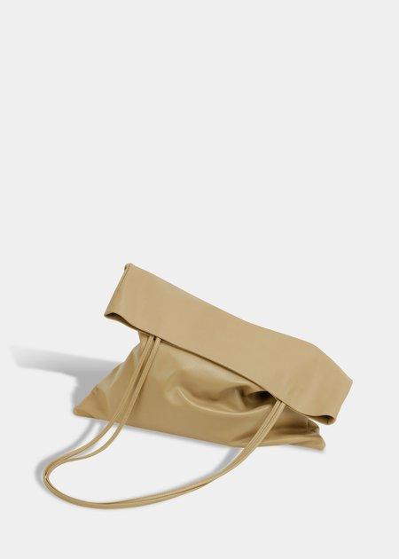 Modern Weaving Slim Lamb Sak - Camel