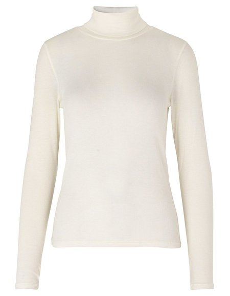 Just Female Millie Roll Neck - Papyrus