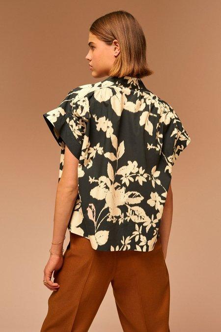 Soeur Madagascar Shirt - Black/Cream