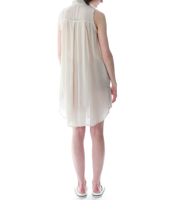 Raquel Allegra Sleeveless Collar Dress