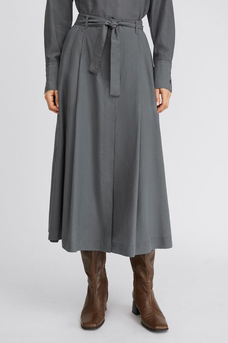 Filippa K Alvina Skirt - Metal