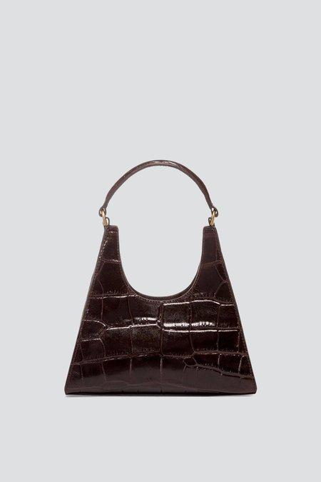 Staud Mini Rey Croc Bag