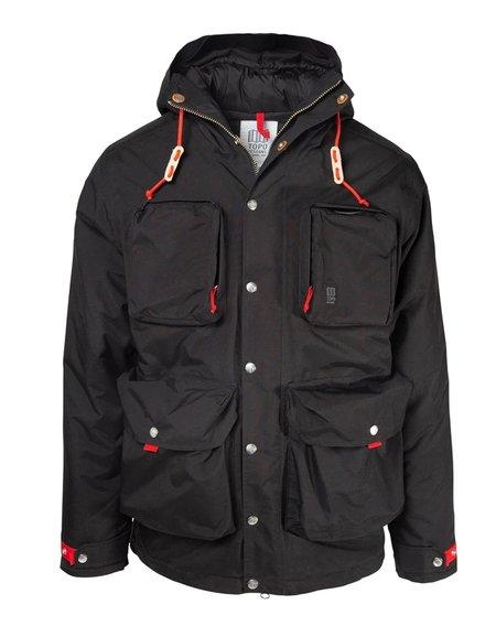 Topo Designs Mountain Jacket - Black