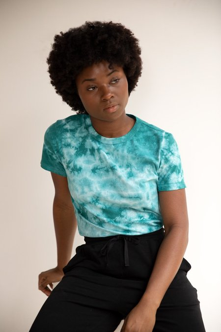 North Of West Taylor Tee - Atlantic Tie Dye