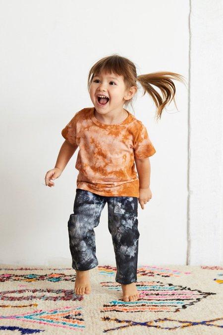 KIDS North Of West Traveler Jeans - Black Tie Dye