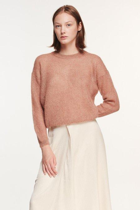 Pomandere Lurex Knit Pullover