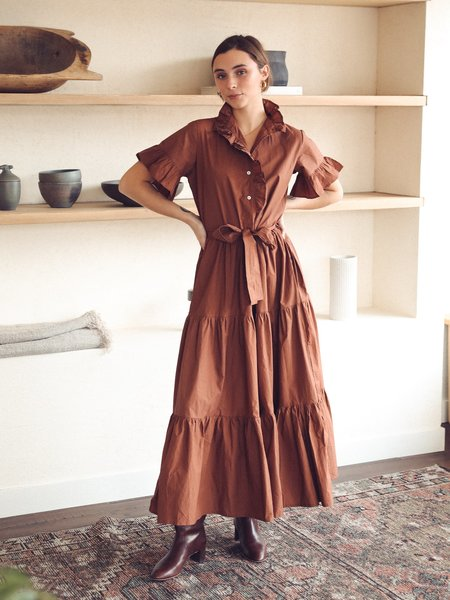 Mille Victoria Dress - clay