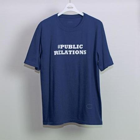 TANGTANG #PR T-Shirt - Navy